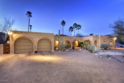 Tucson AZ Single Family Home For Sale: $509,000