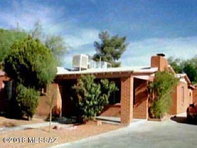 Tucson Single Family Home For Sale: 2126 N Euclid Avenue