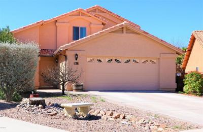 Tucson Single Family Home For Sale: 7817 S Precious Opal Drive