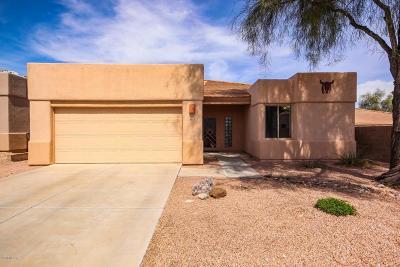 Tucson Single Family Home For Sale: 7427 E Placita Luz De La Luna