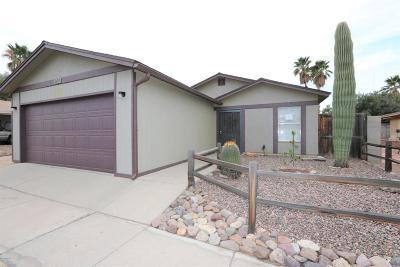 Tucson AZ Single Family Home For Sale: $164,000