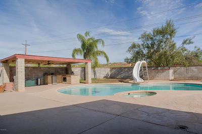 Tucson Single Family Home Active Contingent: 7648 N Meredith Boulevard