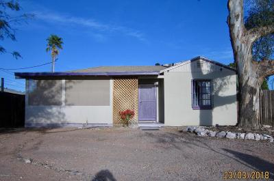 Tucson AZ Single Family Home For Sale: $137,000