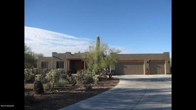 Tucson Single Family Home Active Contingent: 4455 W Tombolo Trail