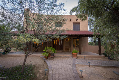 Tucson Single Family Home Active Contingent: 6070 N Pete Dawson Road