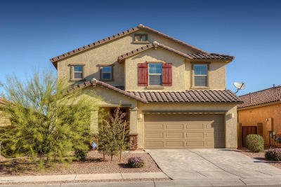 Tucson Single Family Home For Sale: 11367 E Glowing Sunset Drive