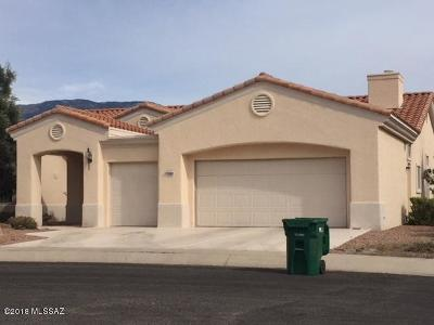 Oro Valley Single Family Home Active Contingent: 13540 N Pima Spring Way