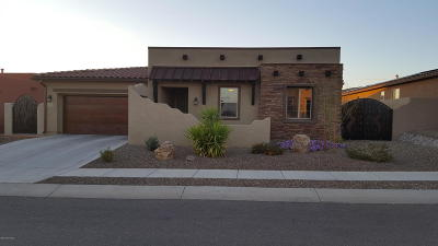 Tucson Single Family Home Active Contingent: 5170 W Cowmans Trail