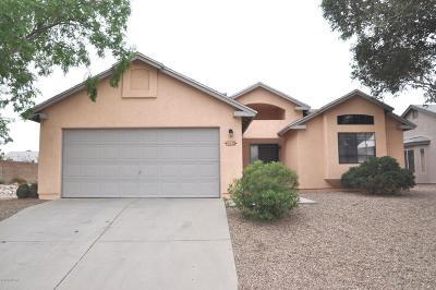 Tucson Single Family Home Active Contingent: 2881 W Camino De La Joya