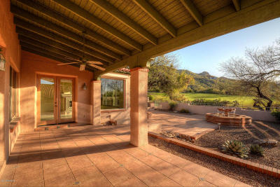 Tucson Single Family Home Active Contingent: 6394 N Desert Wind Circle