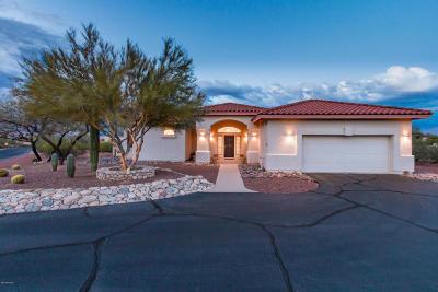 Tucson Single Family Home Active Contingent: 7692 N Quail Ridge Drive