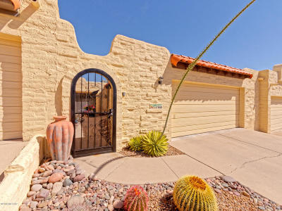 Pima County Townhouse For Sale: 1160 W Calle Excelso