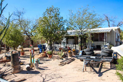 Pima County Manufactured Home For Sale: 1525 E Rens Road
