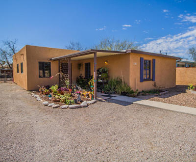 Tucson Single Family Home Active Contingent: 3810 E Hampton Street