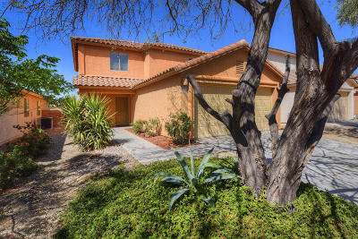 Pima County, Pinal County Single Family Home Active Contingent: 4091 E Agate Knoll Drive