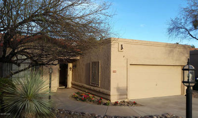 Tucson Single Family Home Active Contingent: 7391 E Damasco Place