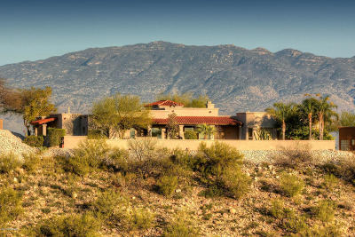 Pima County, Pinal County Single Family Home Active Contingent: 4287 N Sabino Mountain Drive