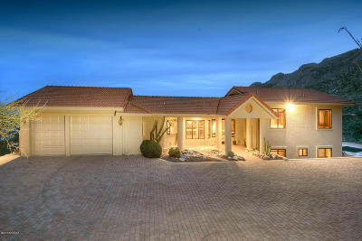 Pima County, Pinal County Single Family Home Active Contingent: 7549 N Camino Sin Vacas