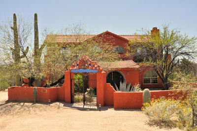 Single Family Home Active Contingent: 5540 S Old Spanish Trail