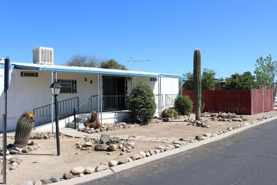 Pima County Manufactured Home Active Contingent: 3441 W Mango Drive