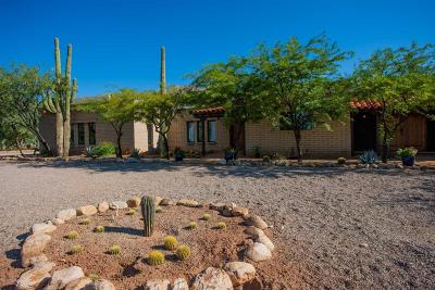 Tucson Single Family Home For Sale: 4810 N Soldier Trail