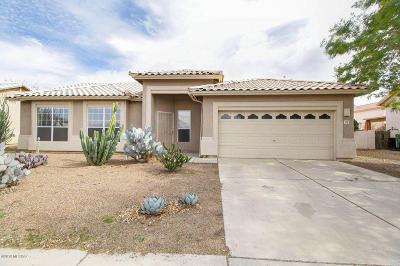 Tucson Single Family Home Active Contingent: 7227 W Rivulet Drive