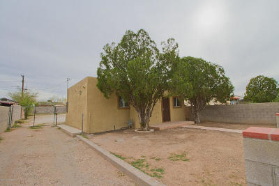 Pima County Single Family Home Active Contingent: 119 W Palmdale Street