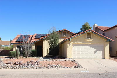 Tucson Single Family Home For Sale: 5240 W Grouse Way
