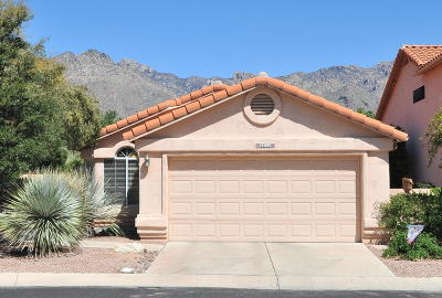 Tucson Single Family Home Active Contingent: 5386 N Entrada De Sabino