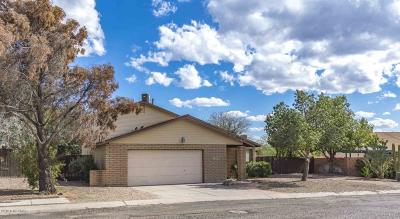 Tucson Single Family Home Active Contingent: 4361 W Barque Drive