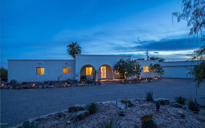 Tucson Single Family Home For Sale: 1851 W Las Lomitas Road