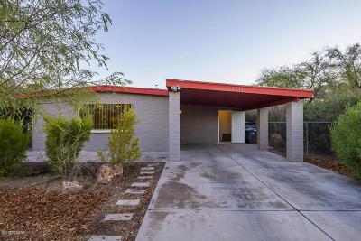 Tucson Single Family Home For Sale: 1111 W Alameda Street