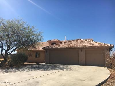 Pima County Single Family Home Active Contingent: 7387 W Brightwater Way