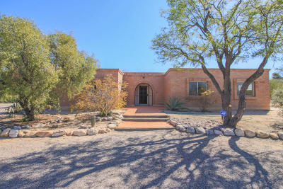 Tucson Single Family Home Active Contingent: 7276 N San Maria Place