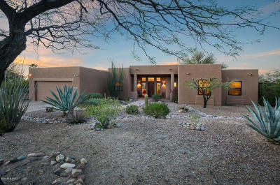 Tucson Single Family Home Active Contingent: 7830 N Quail Ridge Drive