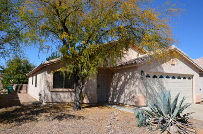 Tucson Single Family Home Active Contingent: 2625 W Cezanne Place