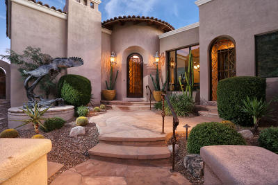 Tucson Single Family Home For Sale: 7470 N Secret Canyon Drive