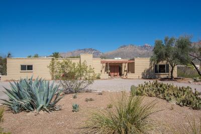 Tucson Single Family Home Active Contingent: 8239 E Rawhide Trail
