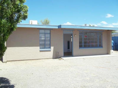 Tucson Single Family Home Active Contingent: 126 W Alturas Street