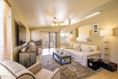 Tucson Single Family Home Active Contingent: 8884 N Majestic Mountain Drive
