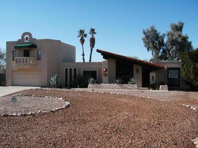 Tucson Single Family Home For Sale: 5470 E Craycroft Circle