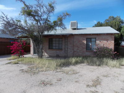 Tucson Single Family Home Active Contingent: 1321 E Lee Street