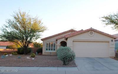 Tucson Single Family Home Active Contingent: 3497 W Placita Prieta