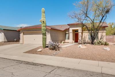 Tucson Single Family Home Active Contingent: 2630 W Camino De Las Grutas