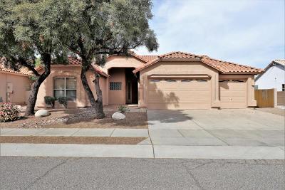 Tucson Single Family Home Active Contingent: 5389 N Ventana Vista Road