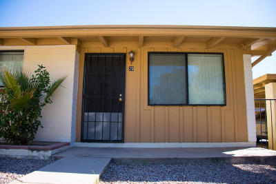 Pima County Condo Active Contingent: 5901 N Oracle Road #20