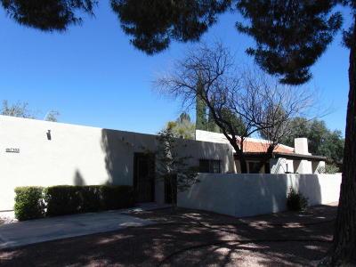 Pima County Townhouse For Sale: 7302 E Cascada Circle