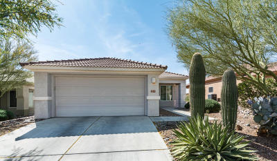 Marana Single Family Home Active Contingent: 5377 W Winding Desert Drive
