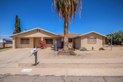 Tucson Single Family Home Active Contingent: 7749 N Red Wing Ci Circle N