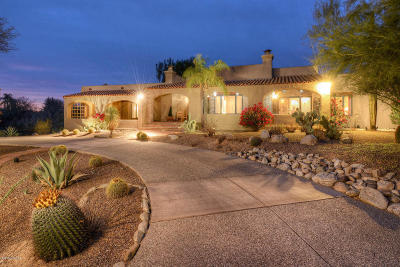 Tucson Single Family Home Active Contingent: 1781 E Placita Padre Isidoro